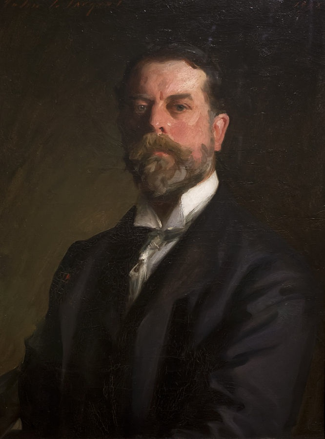 Self Portrait (1906) by John Singer Sargent, oil on canvas, Uffizi Gallery, Florence