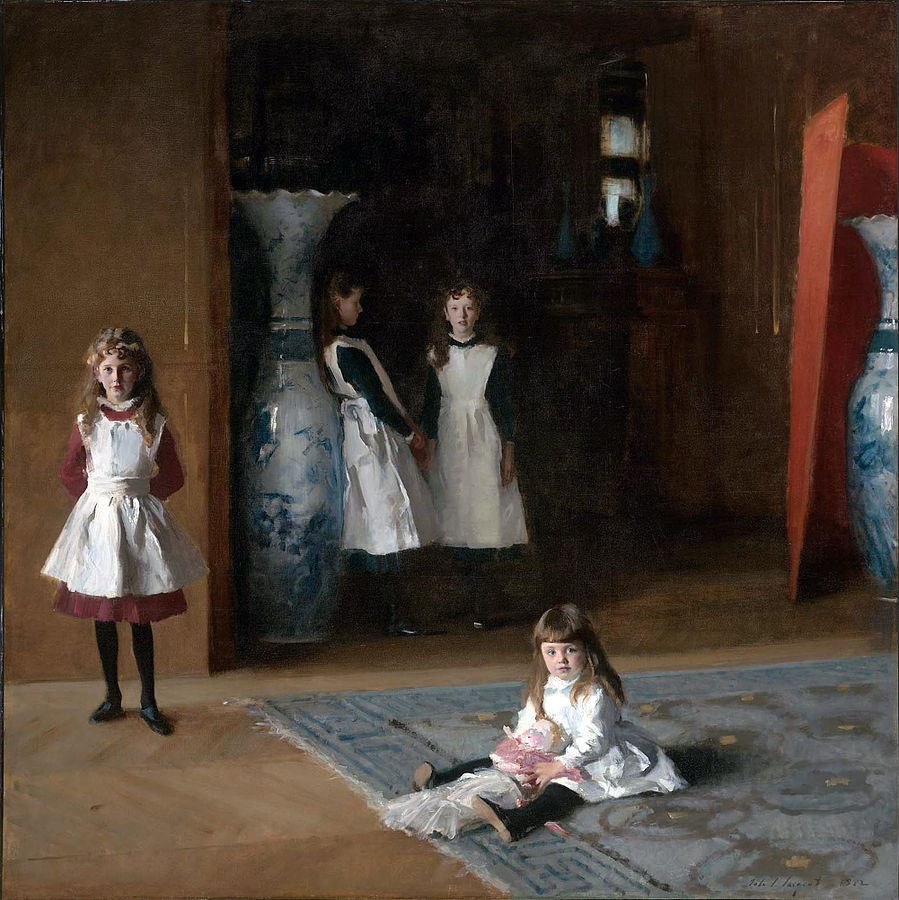The Daughters of Edward Darley Boit (1882) by John Singer Sargent, oil on canvas, Museum of Fine Arts, Boston