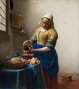 The Milkmaid (c.1658) oil on canvas