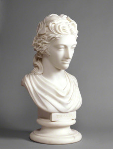 Elizabeth (née Farren), Countess of Derby (c.1788) by Anne Seymour Damer, marble bust, National Portrait Gallery, London