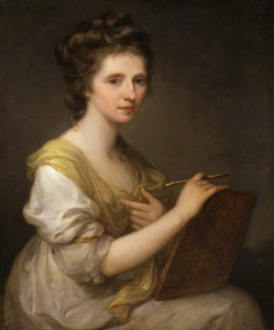 Self Portrait (c.1770-1775) by Angelica Kauffman, oil on canvas, National Portrait Gallery, London