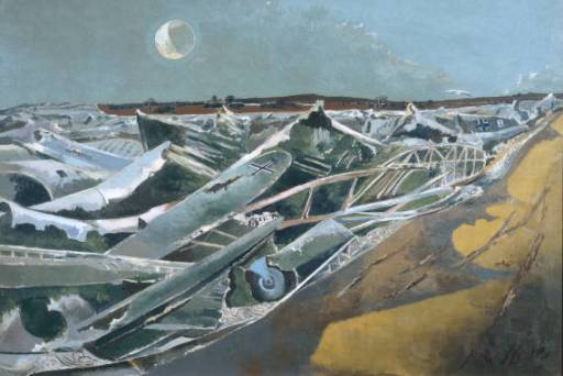 Totes Meer (Dead Sea) (1940-41) Paul Nash, oil on canvas, Tate Britain, London