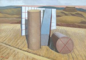 Equivalents for the Megaliths (1935) Paul Nash, oil on canvas. Tate Britain