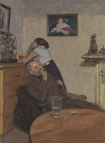 Ennui (1913) Walter Richard Sickert, oil on canvas, Ashmolean Museum, Oxford