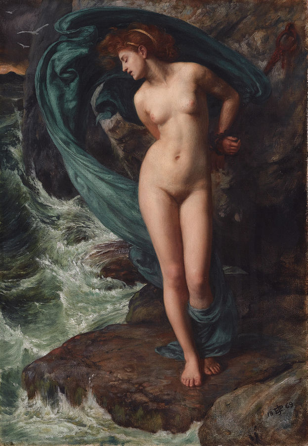 Andromeda (1869) by Edward John Poynter, oil on canvas