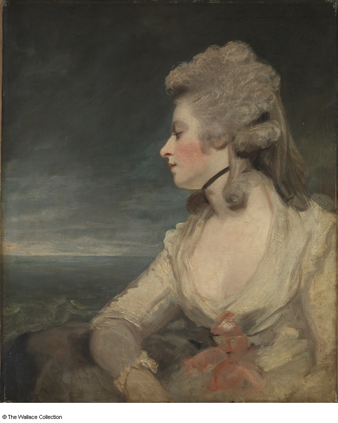 Mrs Mary Robinson (1783-4) by Joshua Reynolds, oil on canvas, The Wallace Collection, London