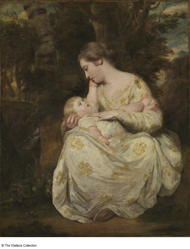 Mrs Susanna Hoare & Child (1763-4) by Joshua Reynolds, oil on canvas, Wallace Collection, London