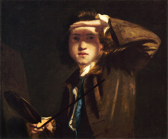 Self Portrait (1747-9) by Joshua Reynolds, oil on canvas, National Portrait Gallery, London