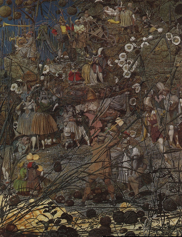 The Fairy Feller's Master-Stroke (1855-64) by Richard Dadd, oil on canvas, Tate Gallery, London