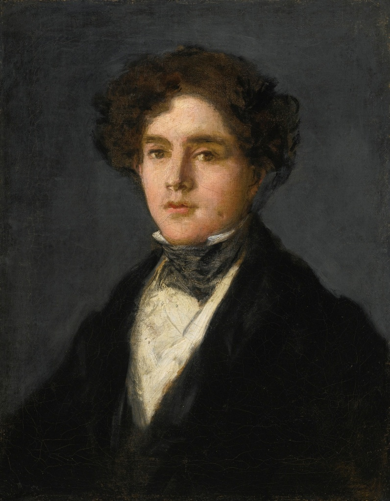 Mariano Goya y Goicoechea (c. 1827) by Goya, oil on canvas, Meadows Museum, Texas