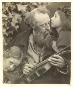 Whisper of the Muse (1874) by  Julia Margaret Cameron, albumen print, Victoria & Albert Museum, London