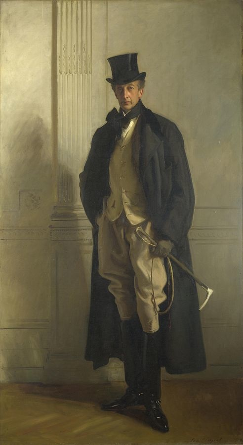 Lord Ribblesdale, (1890) by John Singer Sargent, oil on canvas, National Gallery, London