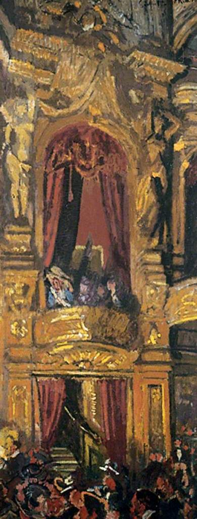 The New Bedford (1916/17) by Walter Richard Sickert, oil on canvas, Leeds Museums and Galleries
