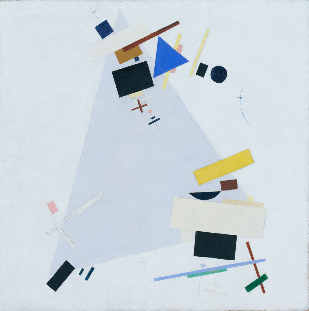 Dynamic Suprematism Supremus (c.1915) by Kazimir Malevich, oil on canvas, Tate, London